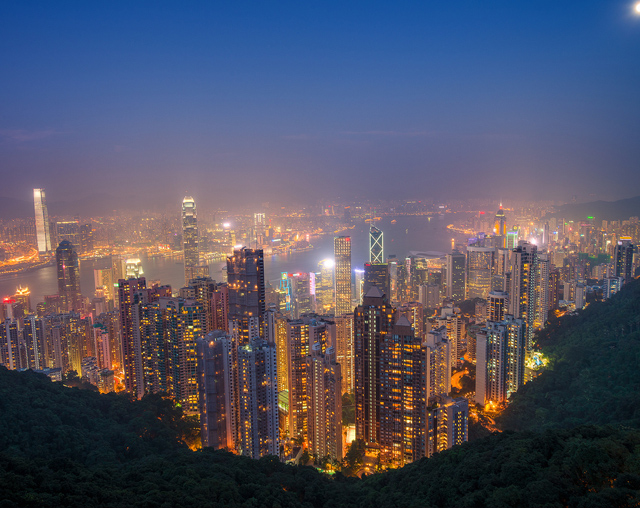 Hong Kong from Victoria Peak by Tom Bricker (CC BY-NC-ND 2.0)