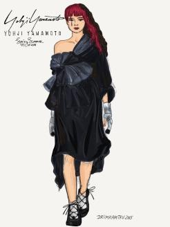 Yohji Yamamoto RTW SS 2016 by drimkamtru